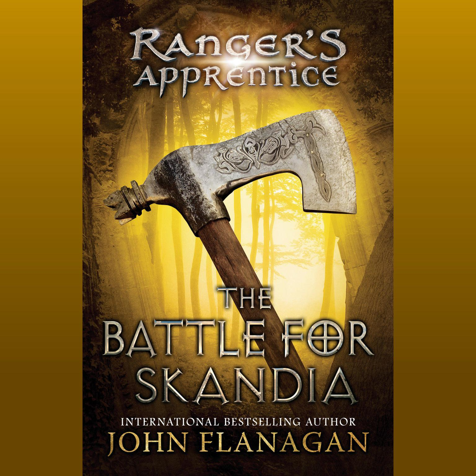 Printable The Battle for Skandia: Book 4 Audiobook Cover Art