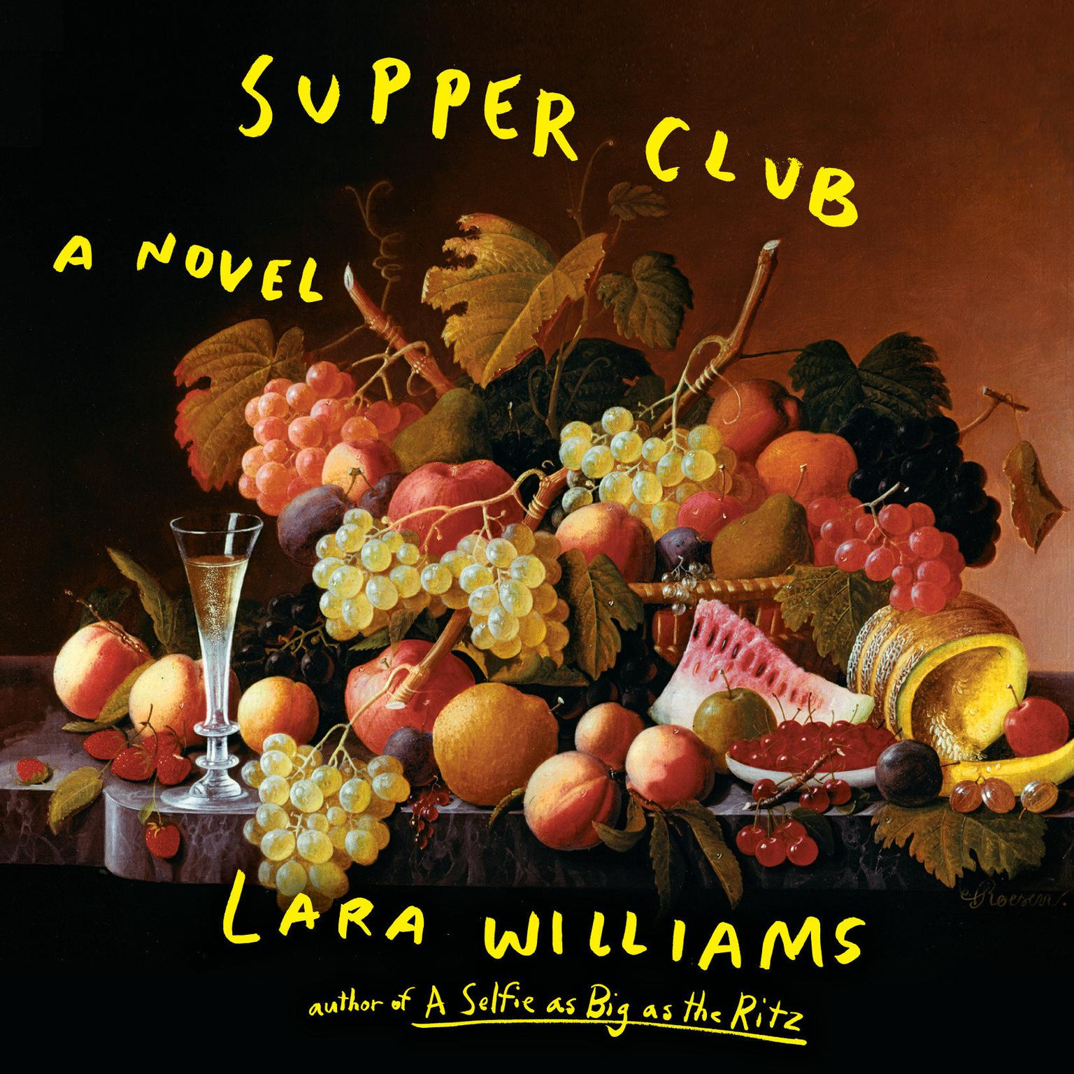 Printable Supper Club Audiobook Cover Art
