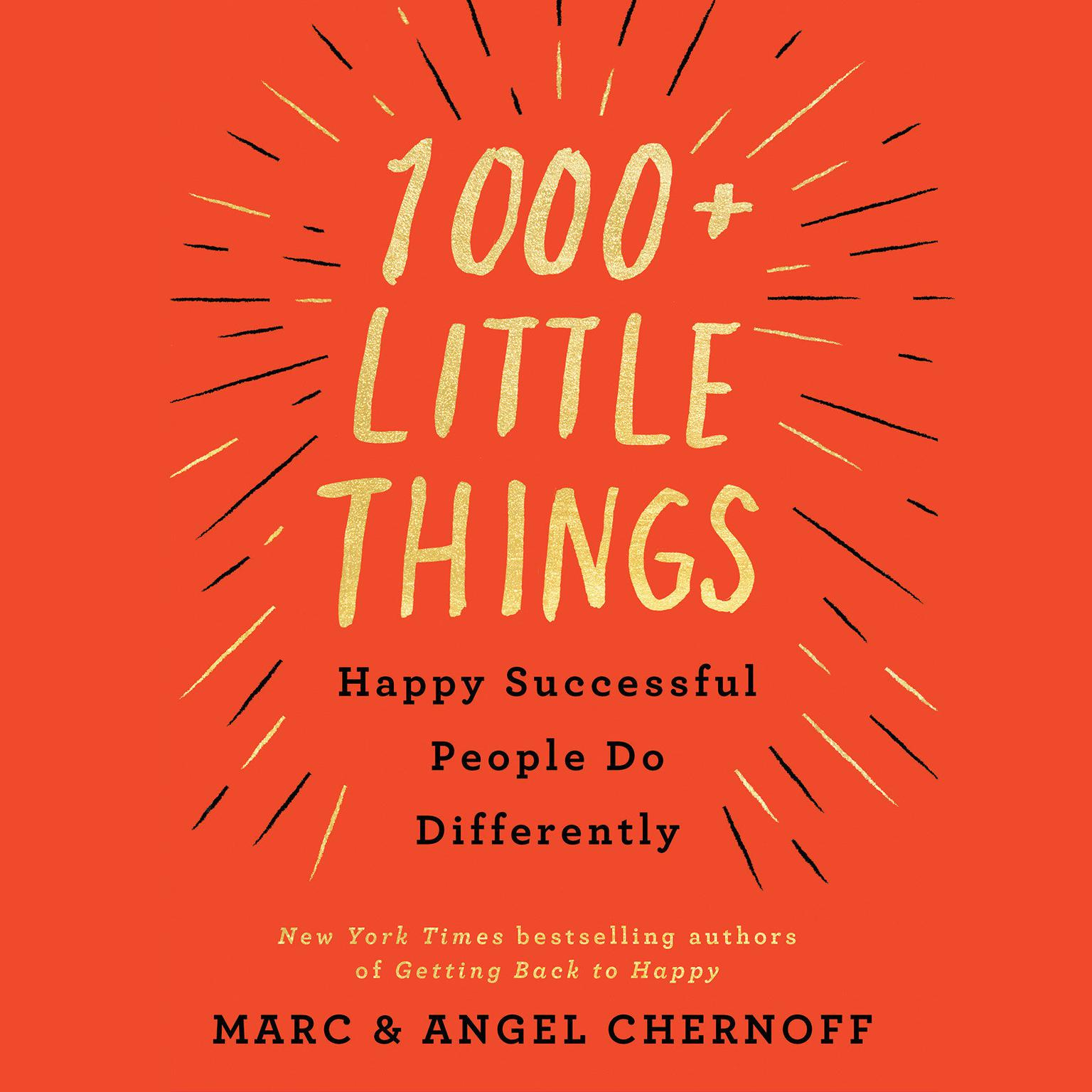Printable 1000+ Little Things Happy Successful People Do Differently Audiobook Cover Art