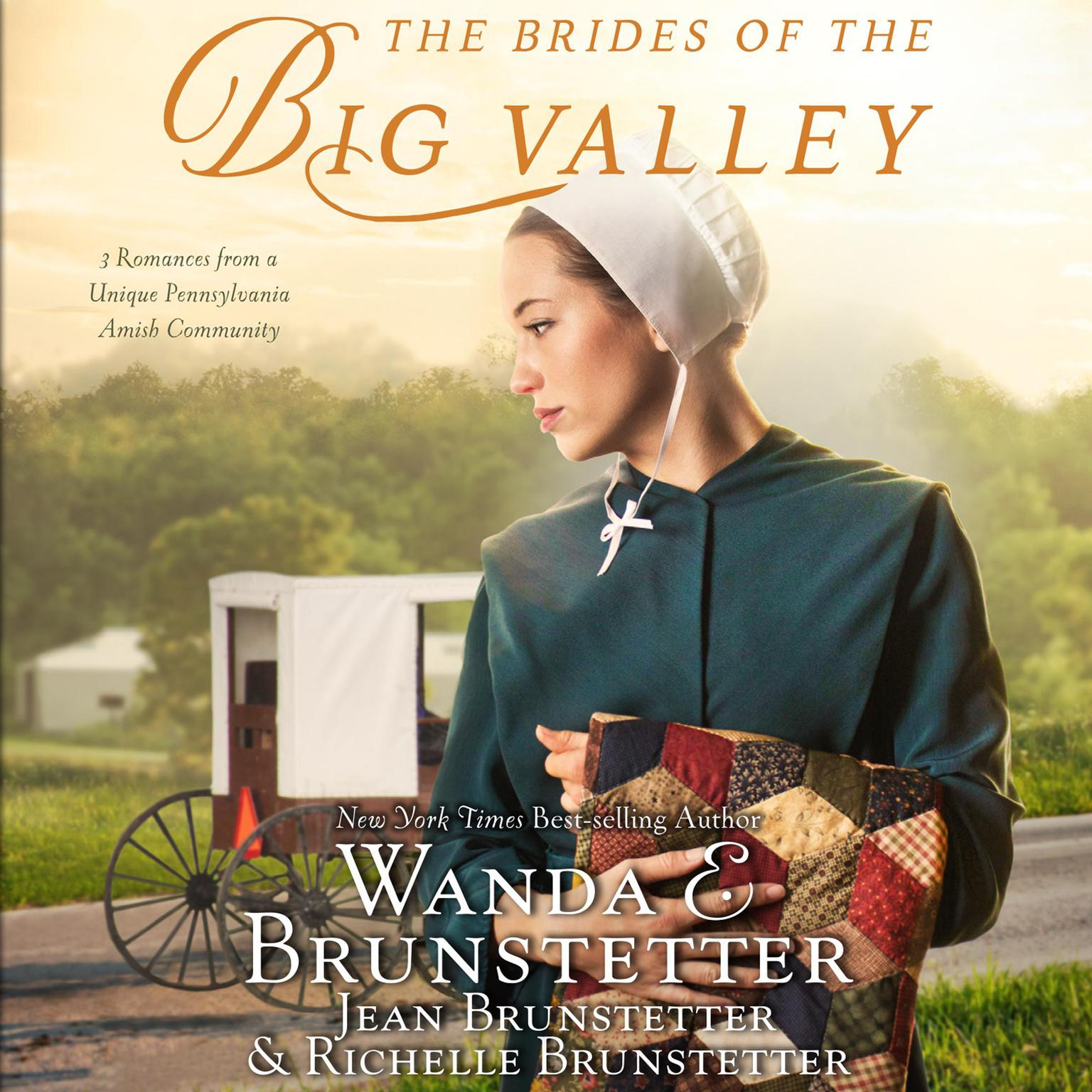 Printable The Brides of the Big Valley: 3 Romances from a Unique Pennsylvania Amish Community Audiobook Cover Art