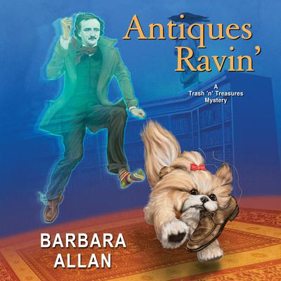 Antiques Ravin' Audiobook, by Barbara Allan