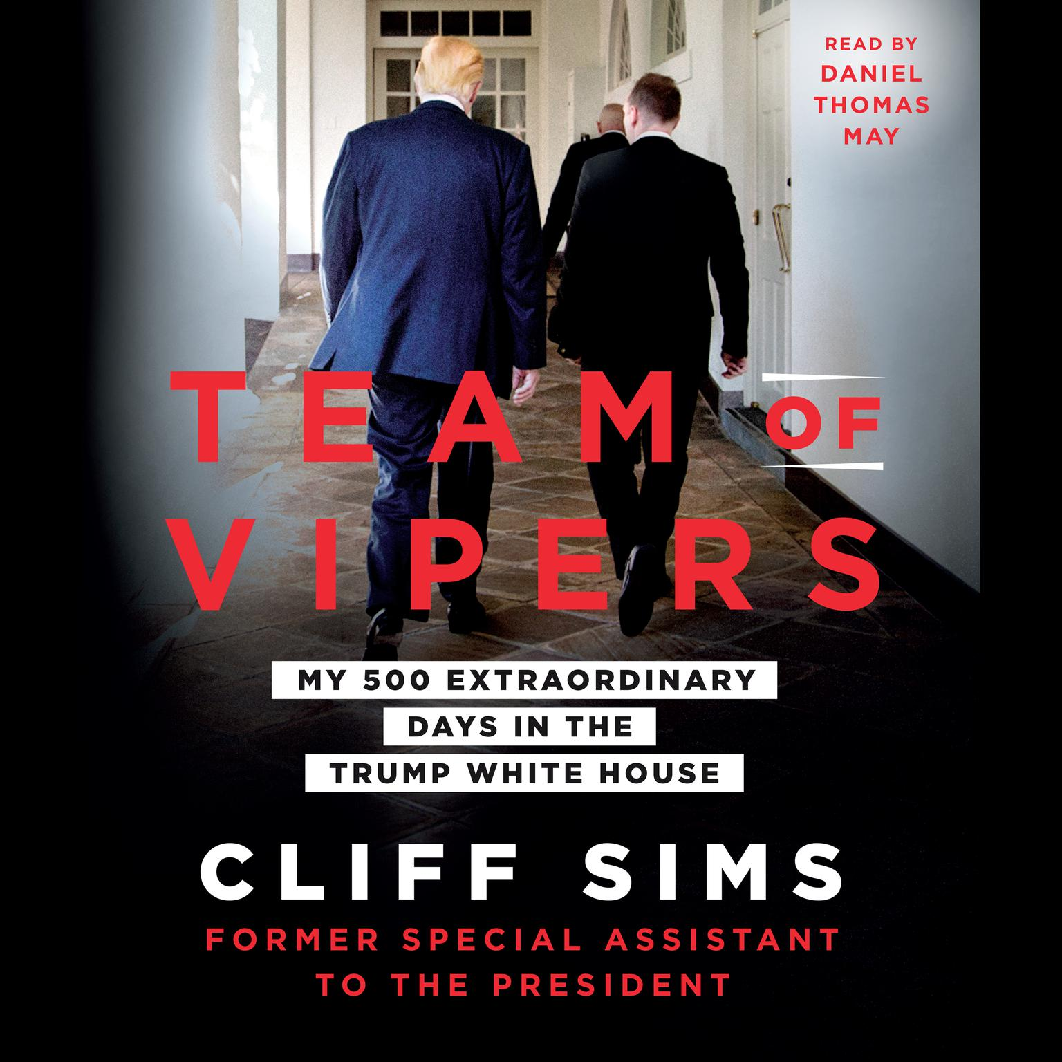 Printable Team of Vipers: My 500 Extraordinary Days in the Trump White House Audiobook Cover Art
