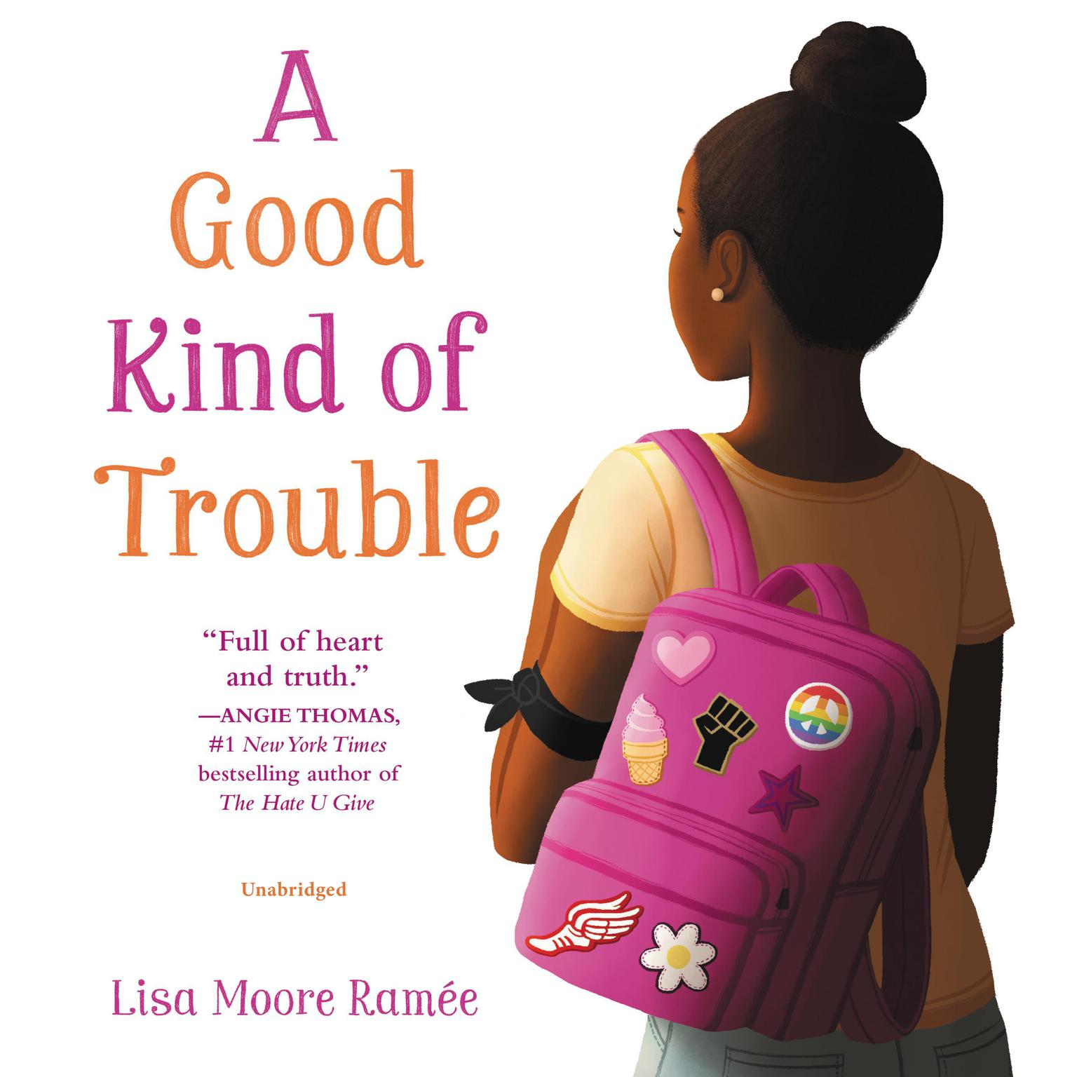 Printable A Good Kind of Trouble Audiobook Cover Art