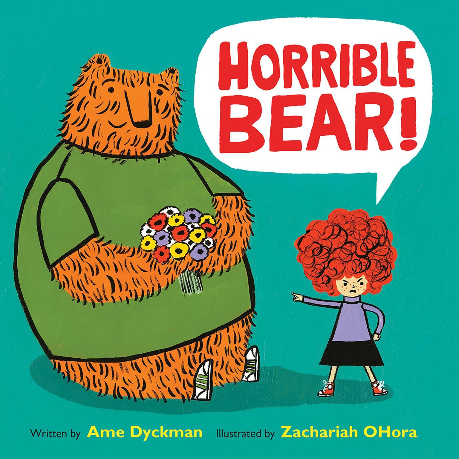 Printable Horrible Bear! Audiobook Cover Art