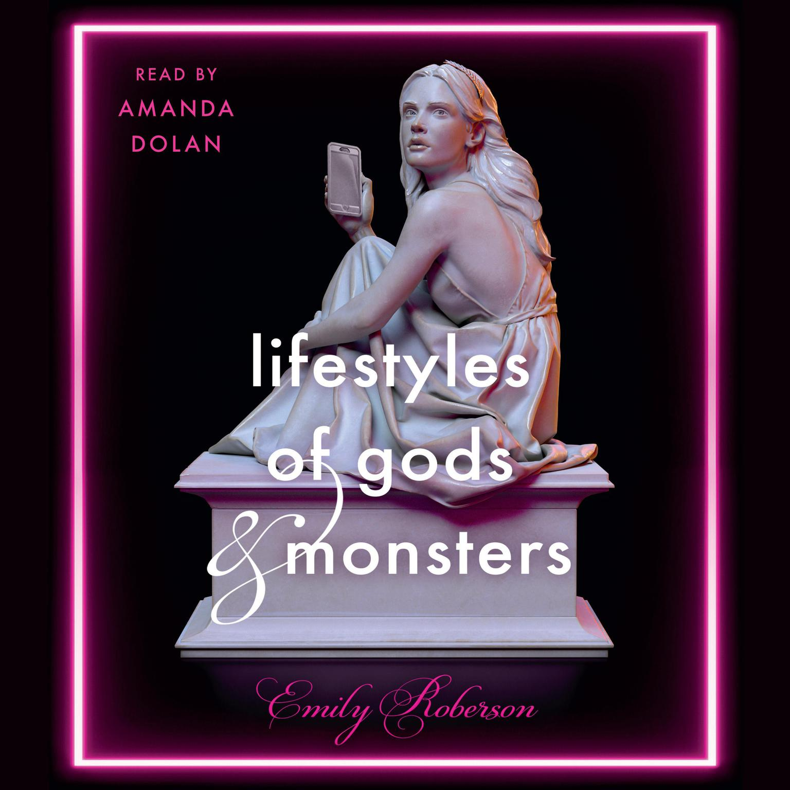 Printable Lifestyles of Gods and Monsters Audiobook Cover Art