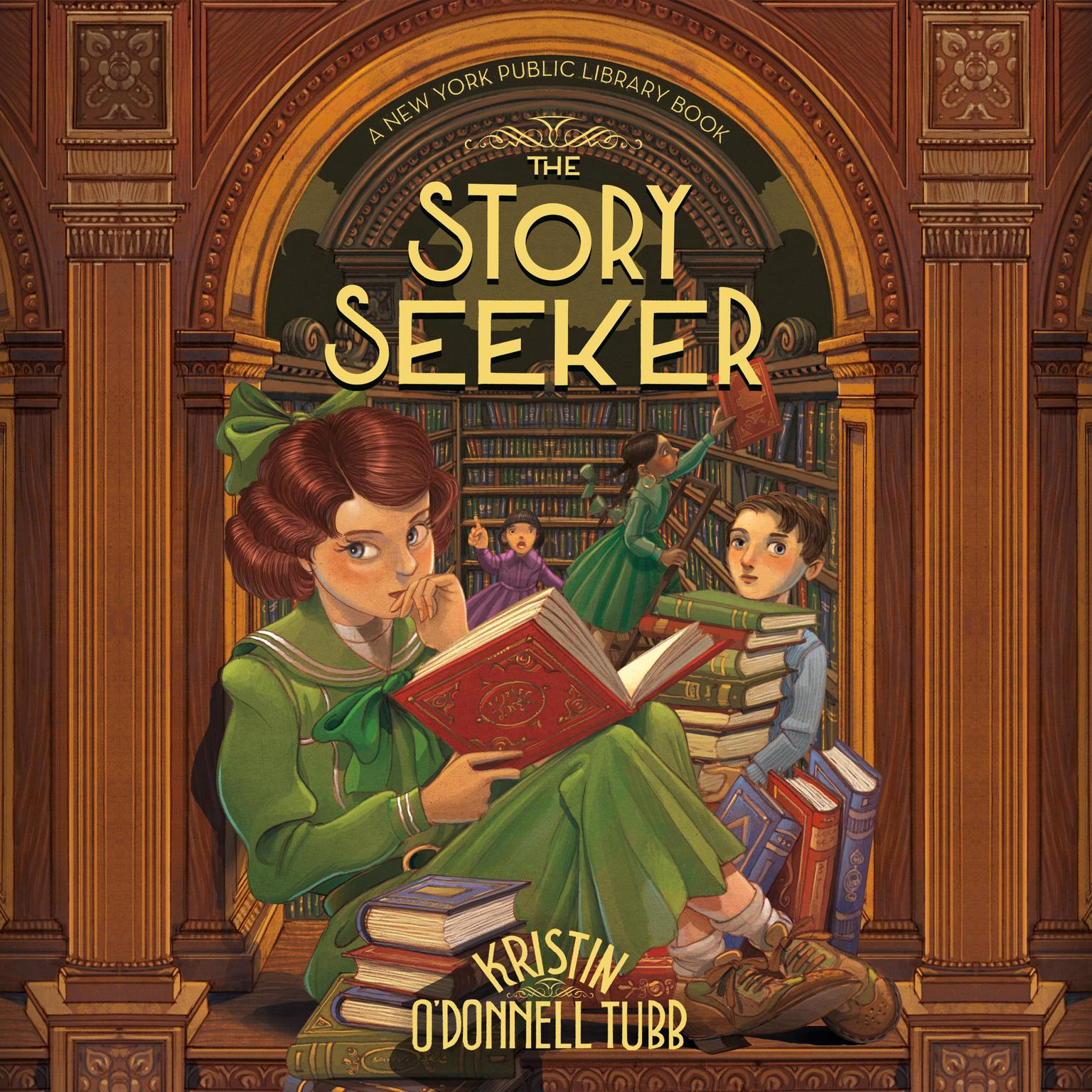 Printable The Story Seeker: A New York Public Library Book Audiobook Cover Art