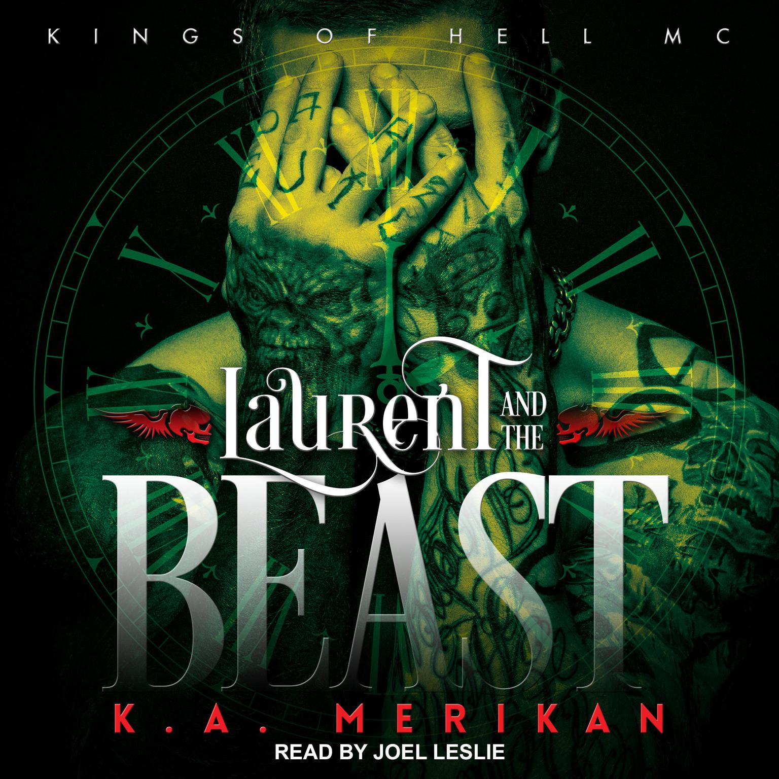 Printable Laurent and the Beast Audiobook Cover Art