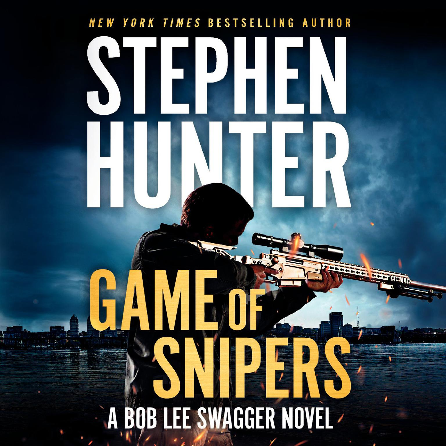 Printable Game of Snipers Audiobook Cover Art