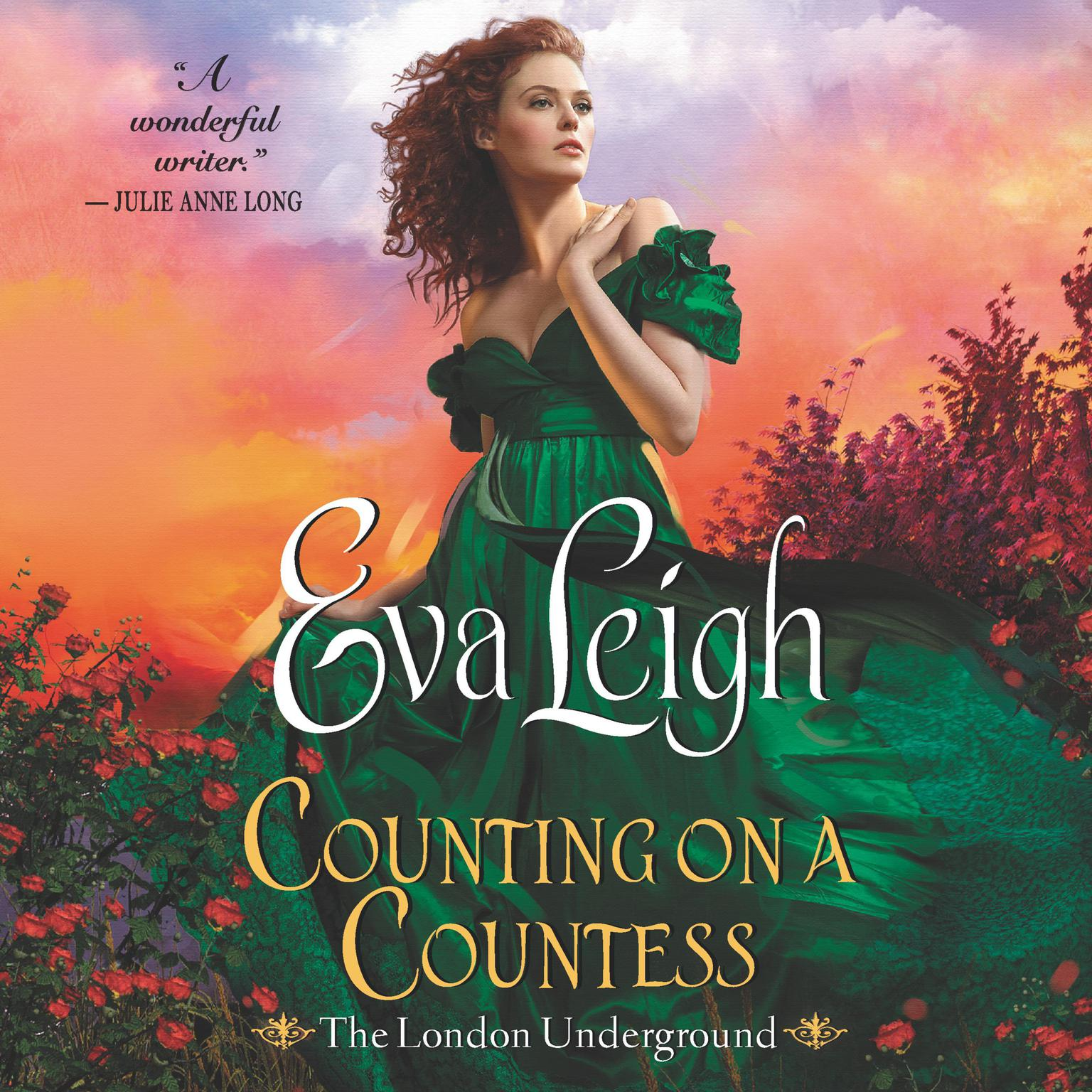 Printable Counting on a Countess: The London Underground Audiobook Cover Art