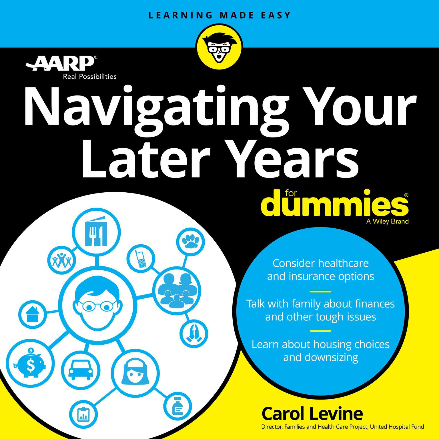 Printable Navigating Your Later Years For Dummies Audiobook Cover Art