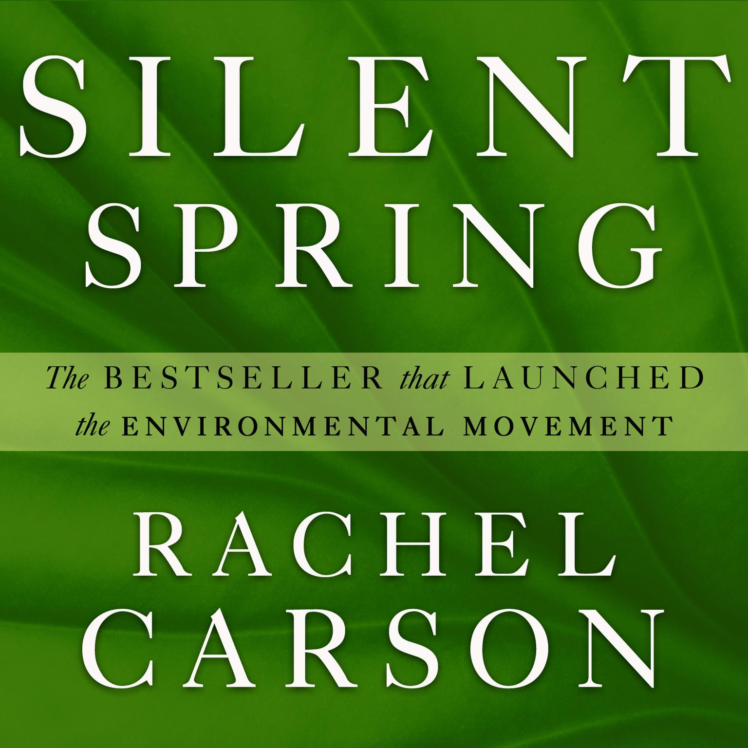 Printable Silent Spring Audiobook Cover Art