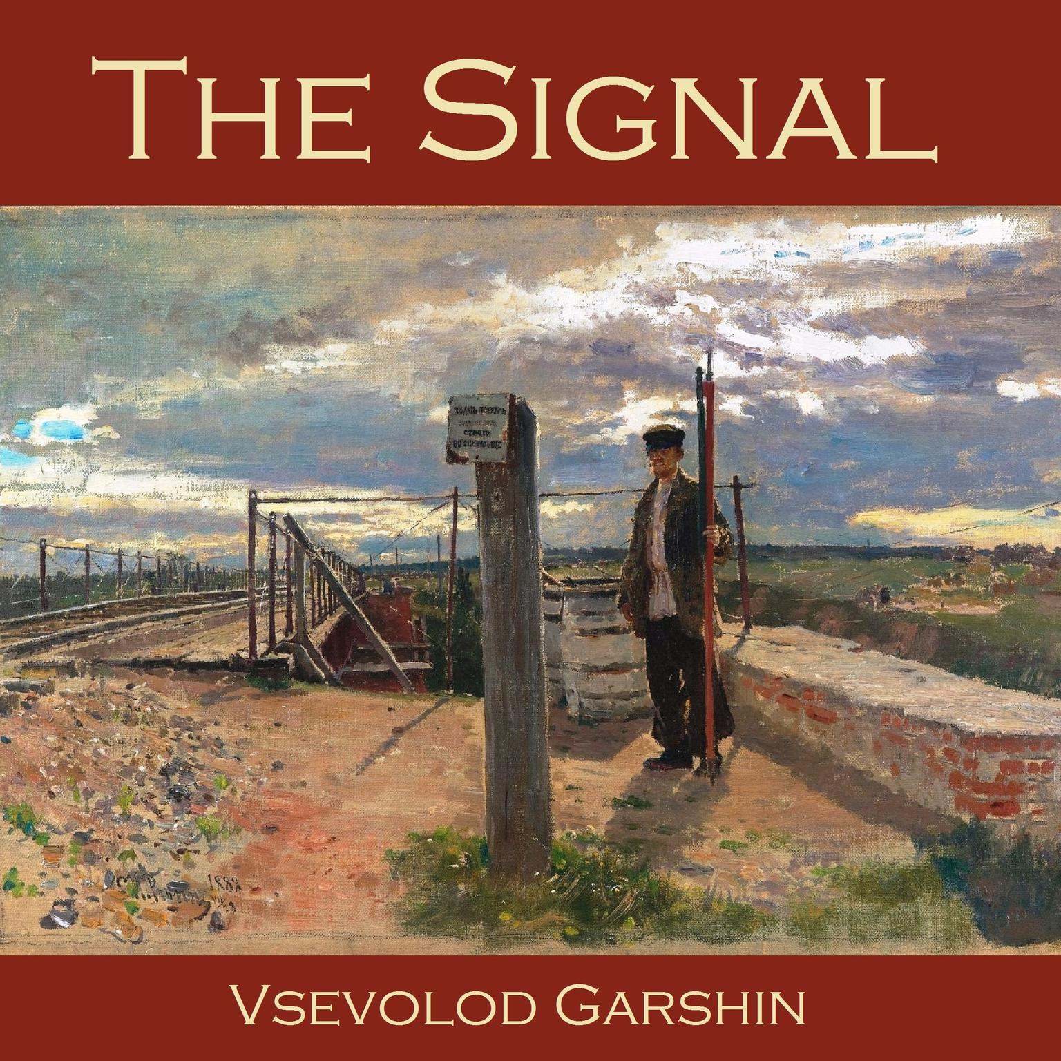 Printable The Signal Audiobook Cover Art