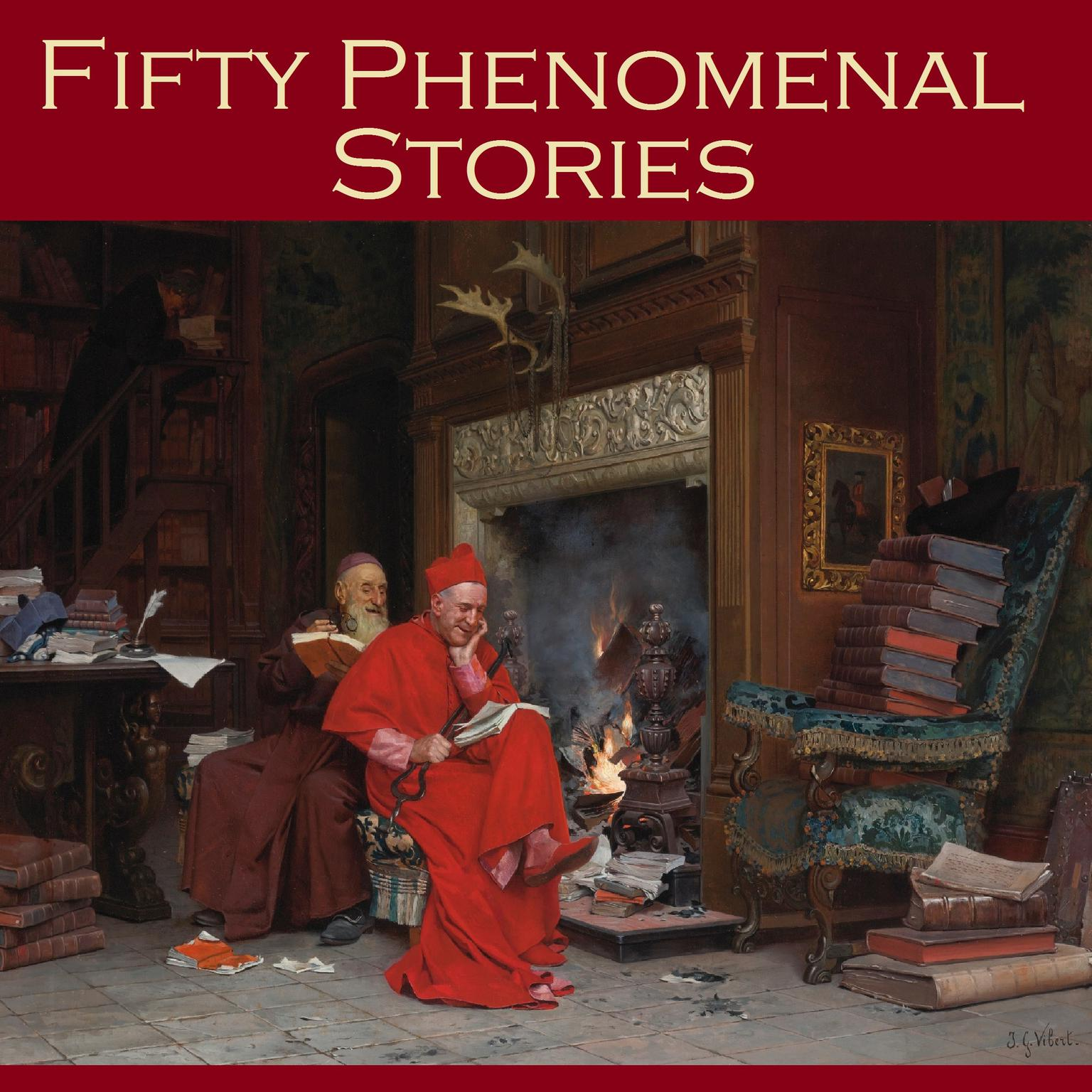 Printable Fifty Phenomenal Stories Audiobook Cover Art