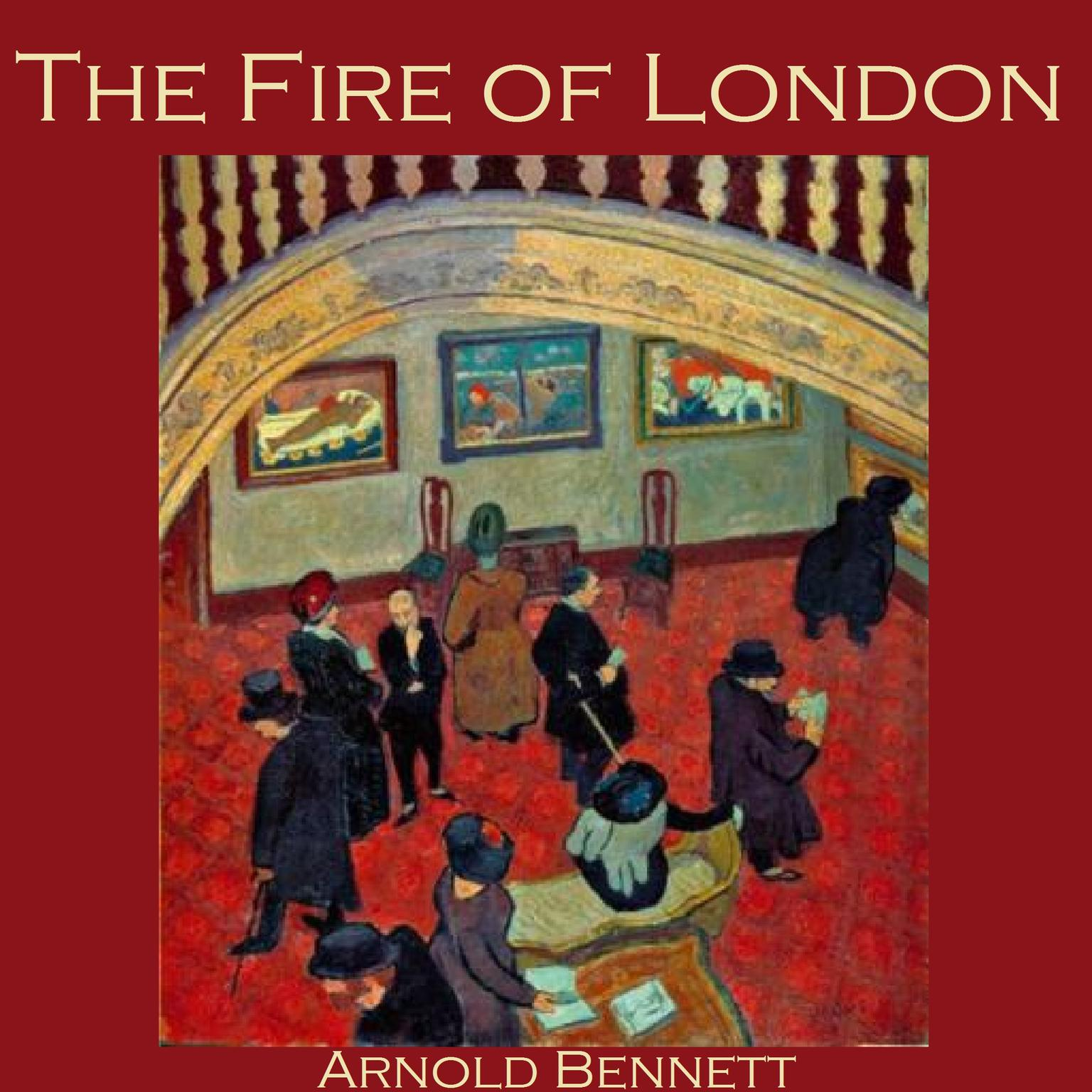 Printable The Fire of London Audiobook Cover Art