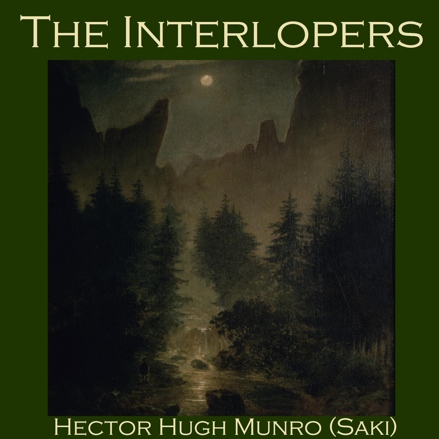 Printable The Interlopers Audiobook Cover Art