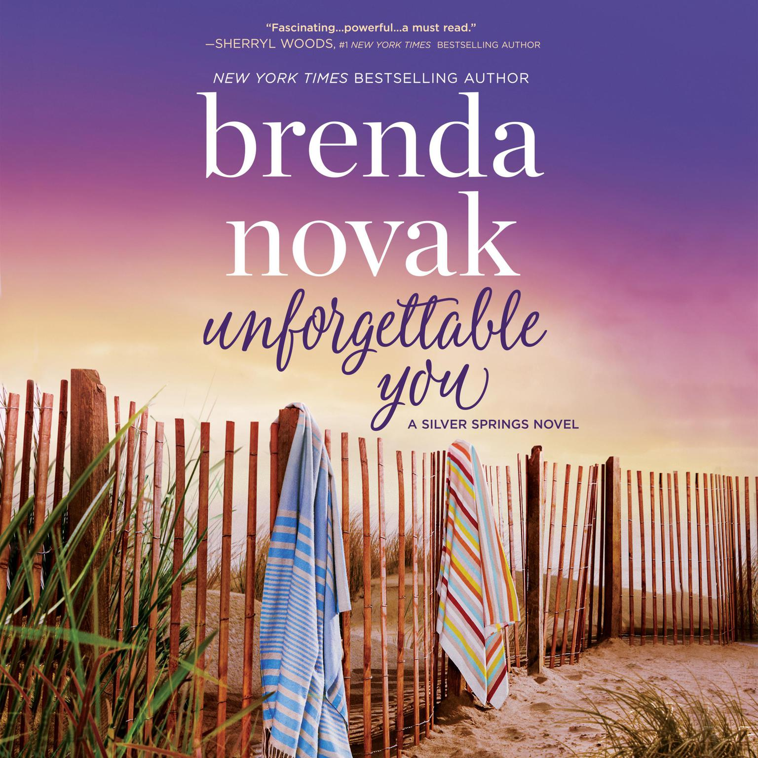 Printable Unforgettable You: Silver Springs Audiobook Cover Art