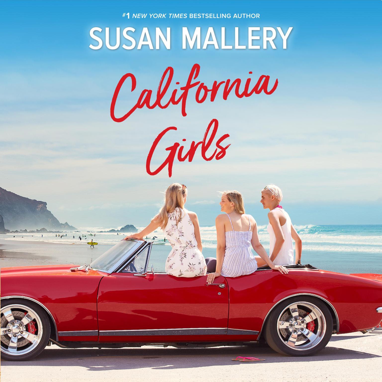 Printable California Girls Audiobook Cover Art