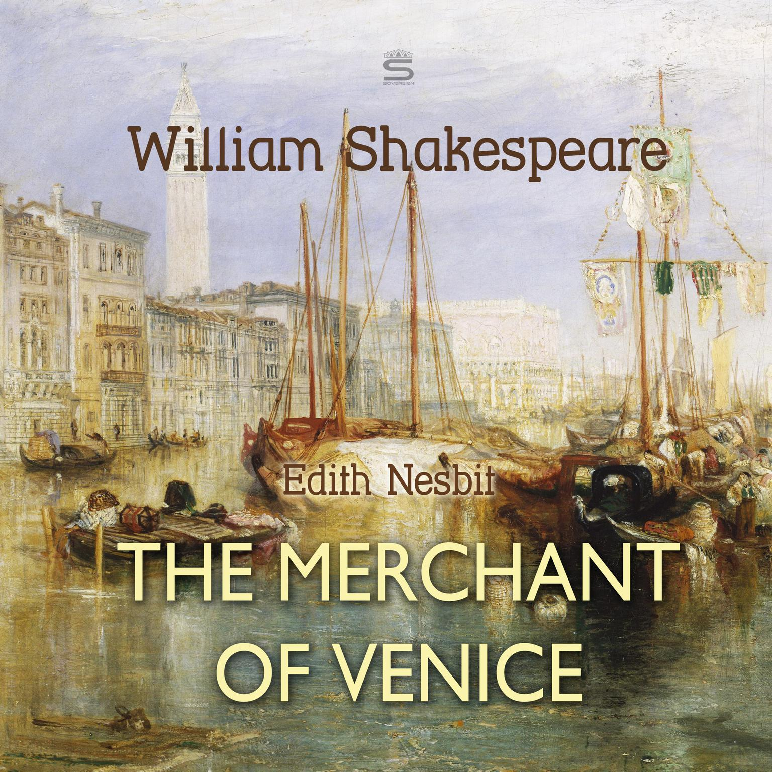 Printable The Merchant of Venice Audiobook Cover Art