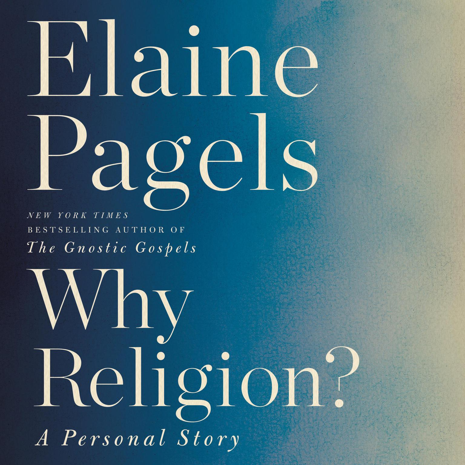 Printable Why Religion?: A Personal Story Audiobook Cover Art