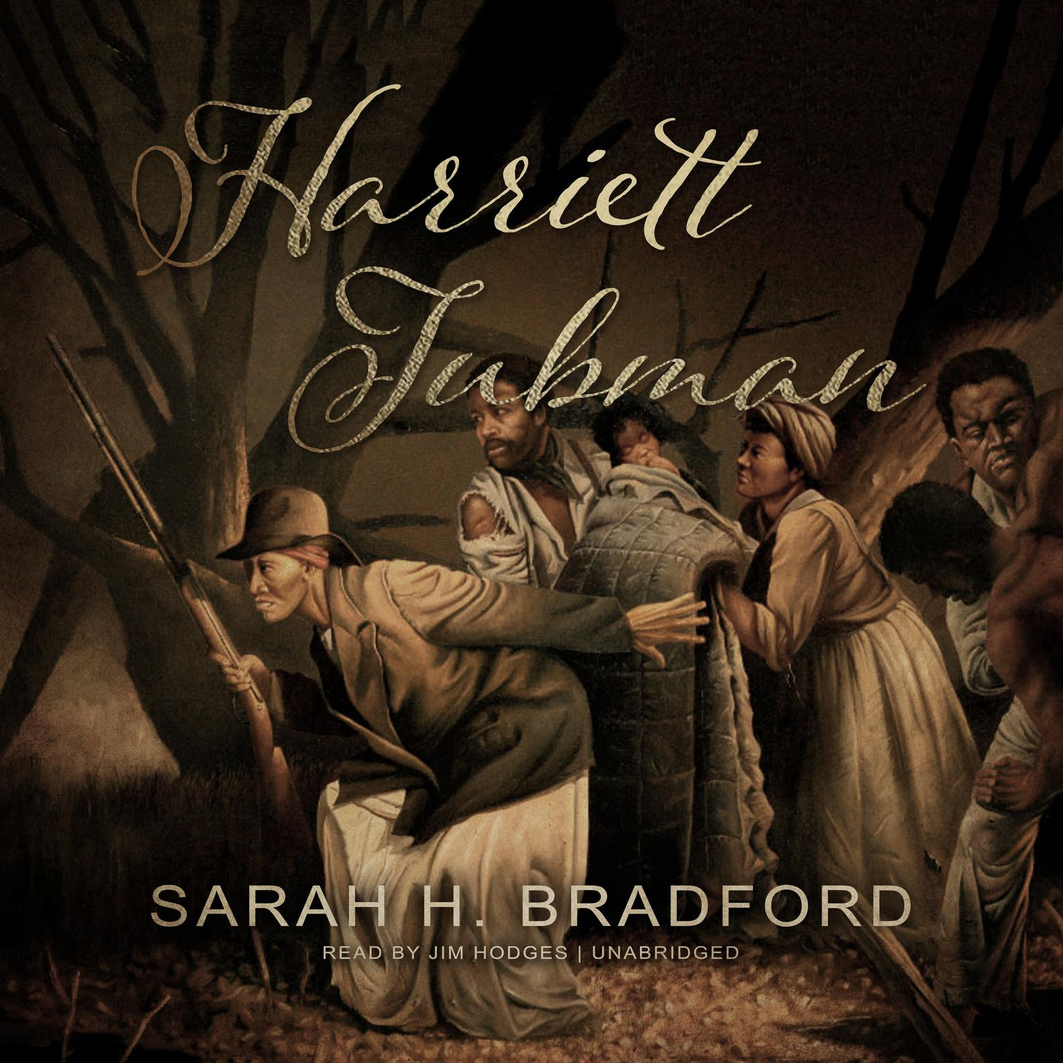 Printable Harriett Tubman: The Moses of Her People Audiobook Cover Art