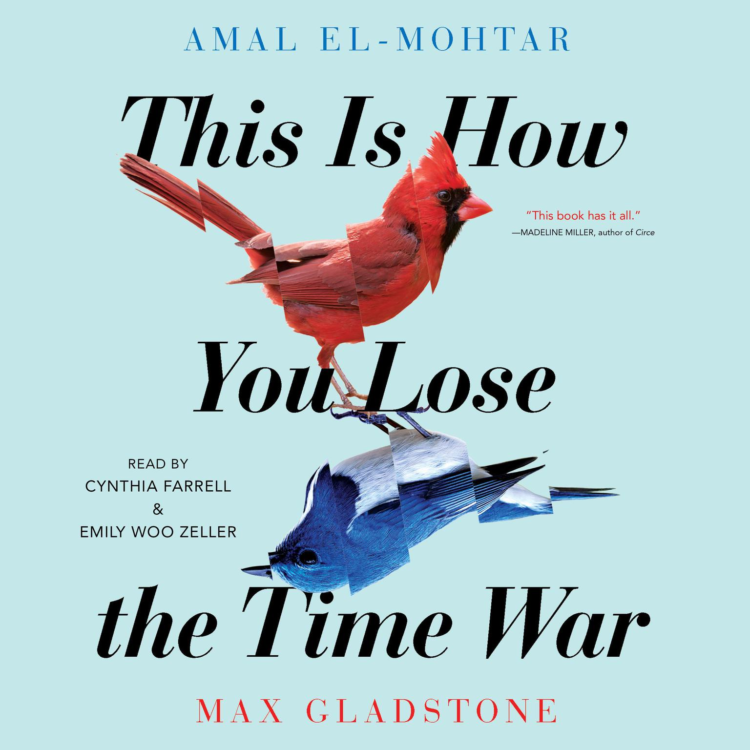 Printable This Is How You Lose The Time War Audiobook Cover Art