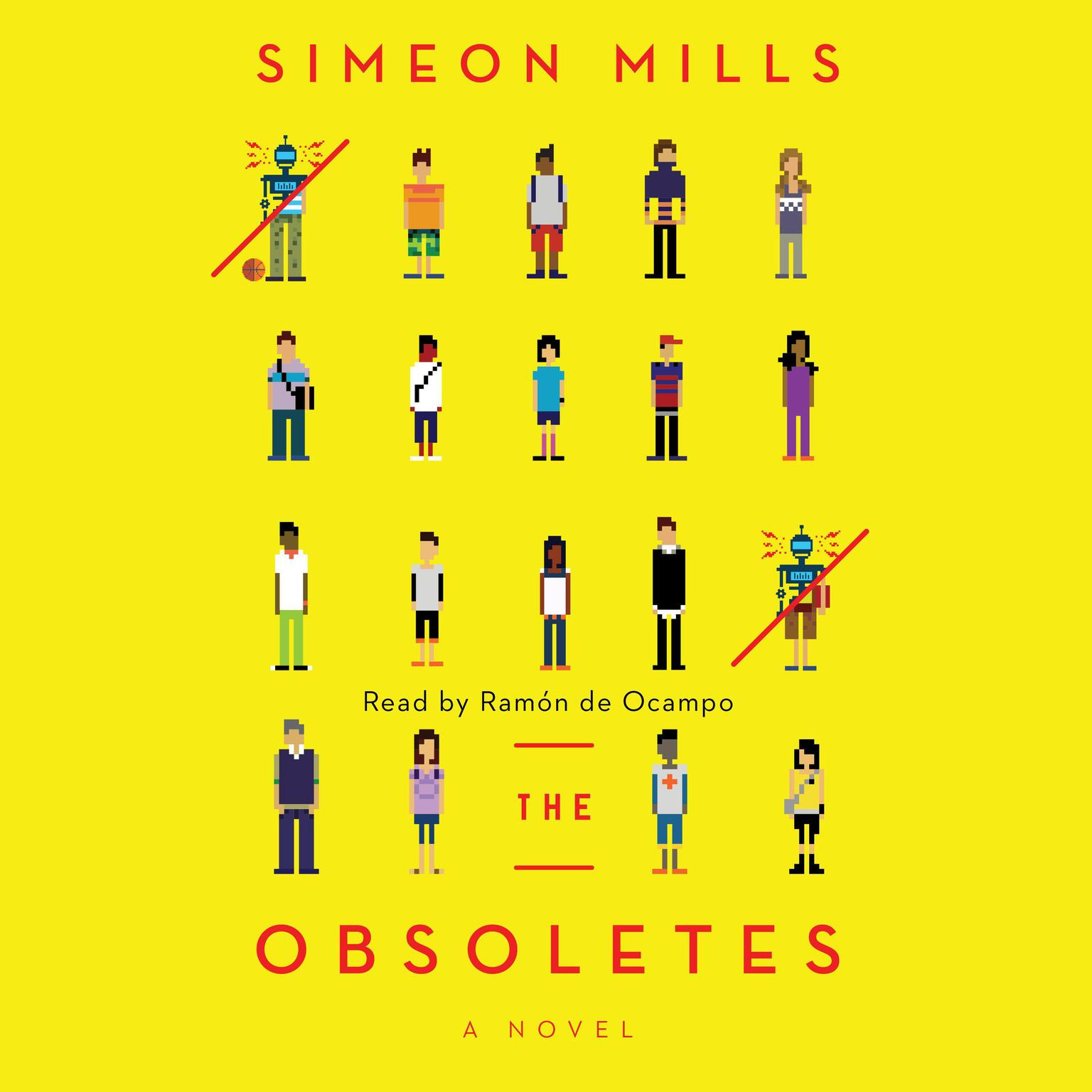 Printable The Obsoletes: A Novel Audiobook Cover Art