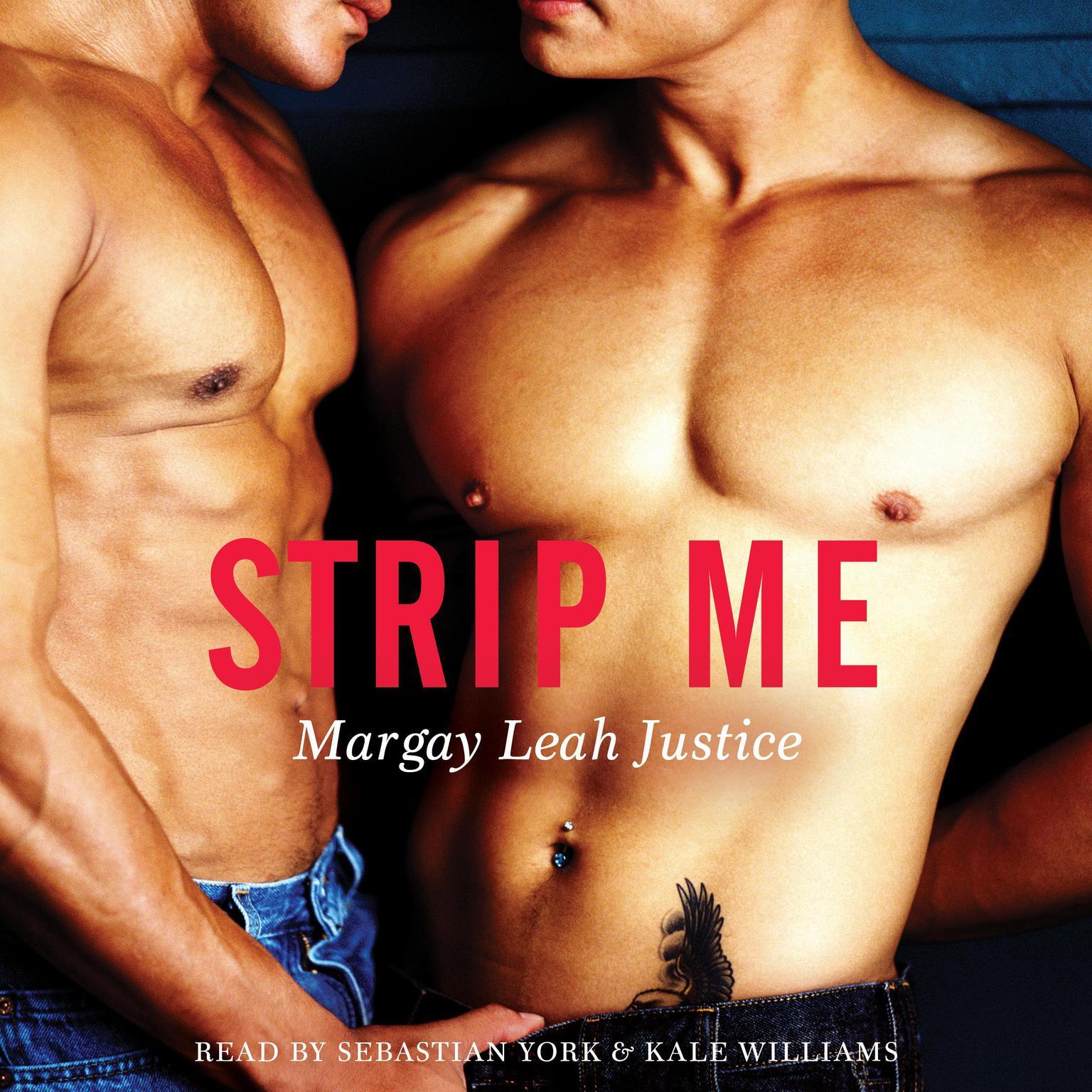 Printable Strip Me Audiobook Cover Art