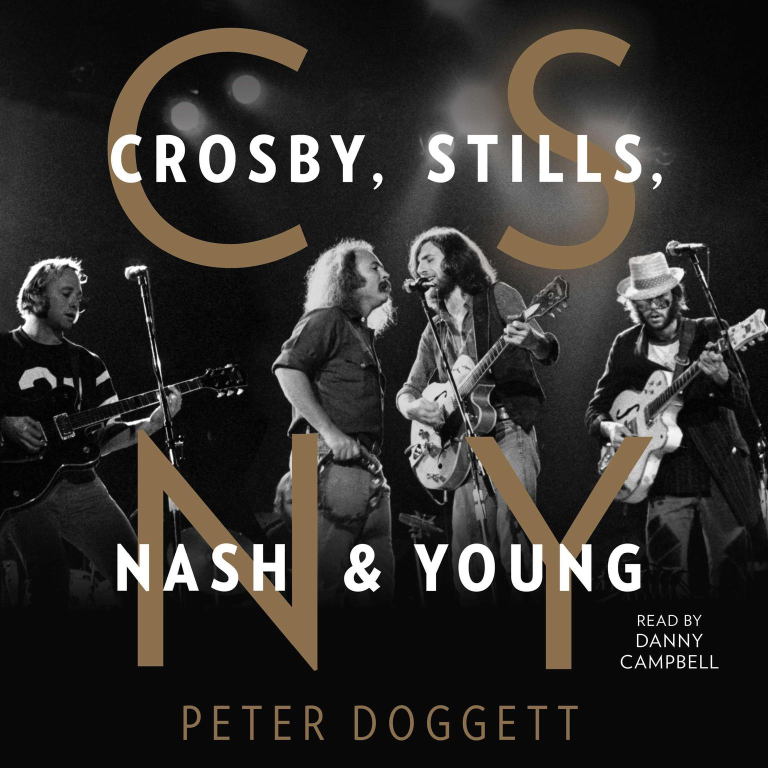 Printable CSNY: Crosby, Stills, Nash and Young Audiobook Cover Art