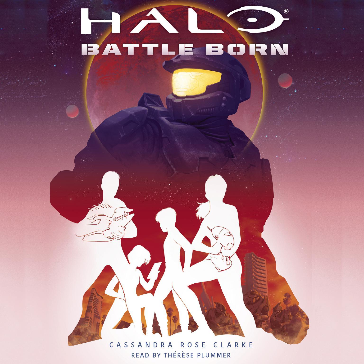 Printable Halo: Battle Born Audiobook Cover Art