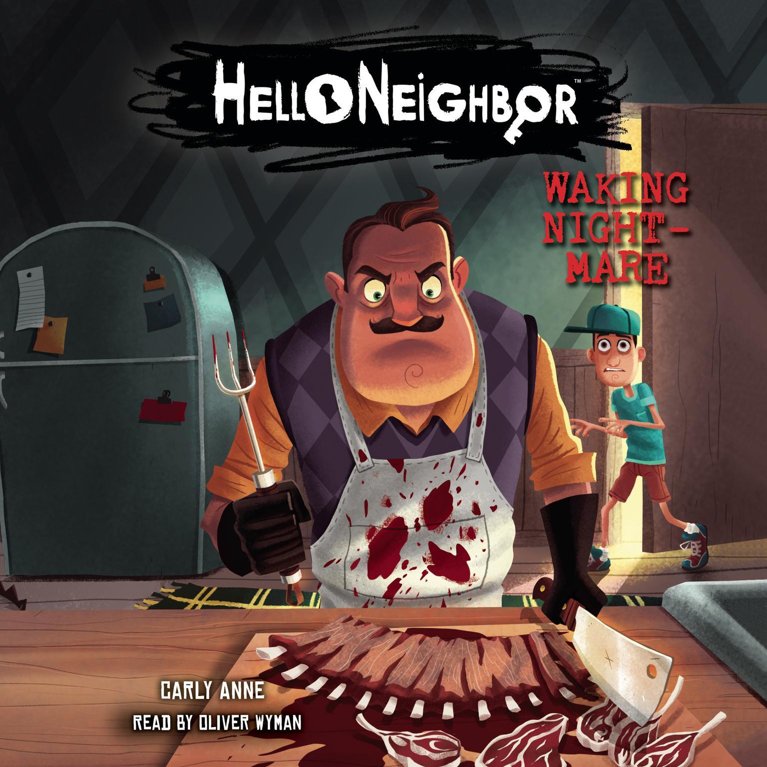 Printable Hello Neighbor #2: Waking Nightmare Audiobook Cover Art