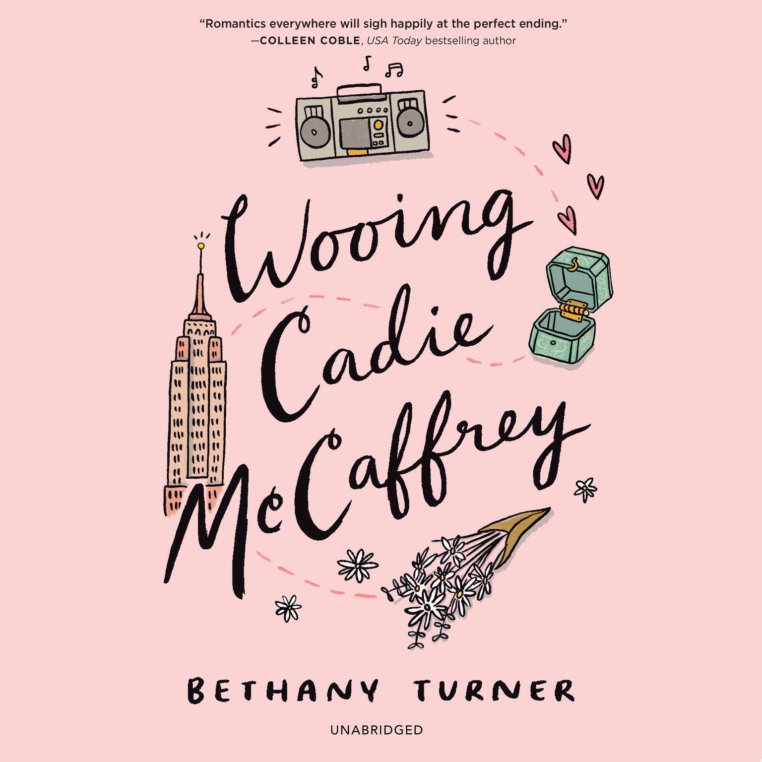 Printable Wooing Cadie McCaffrey Audiobook Cover Art