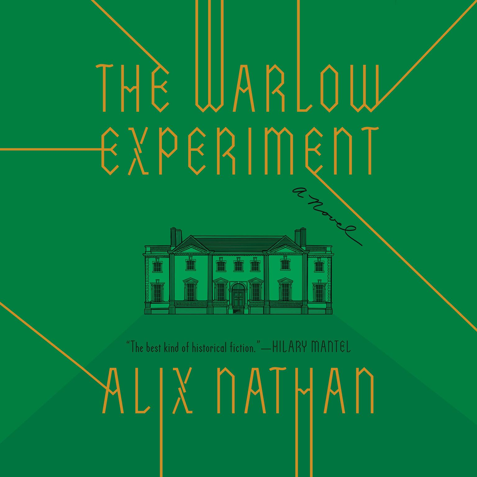 Printable The Warlow Experiment: A Novel Audiobook Cover Art