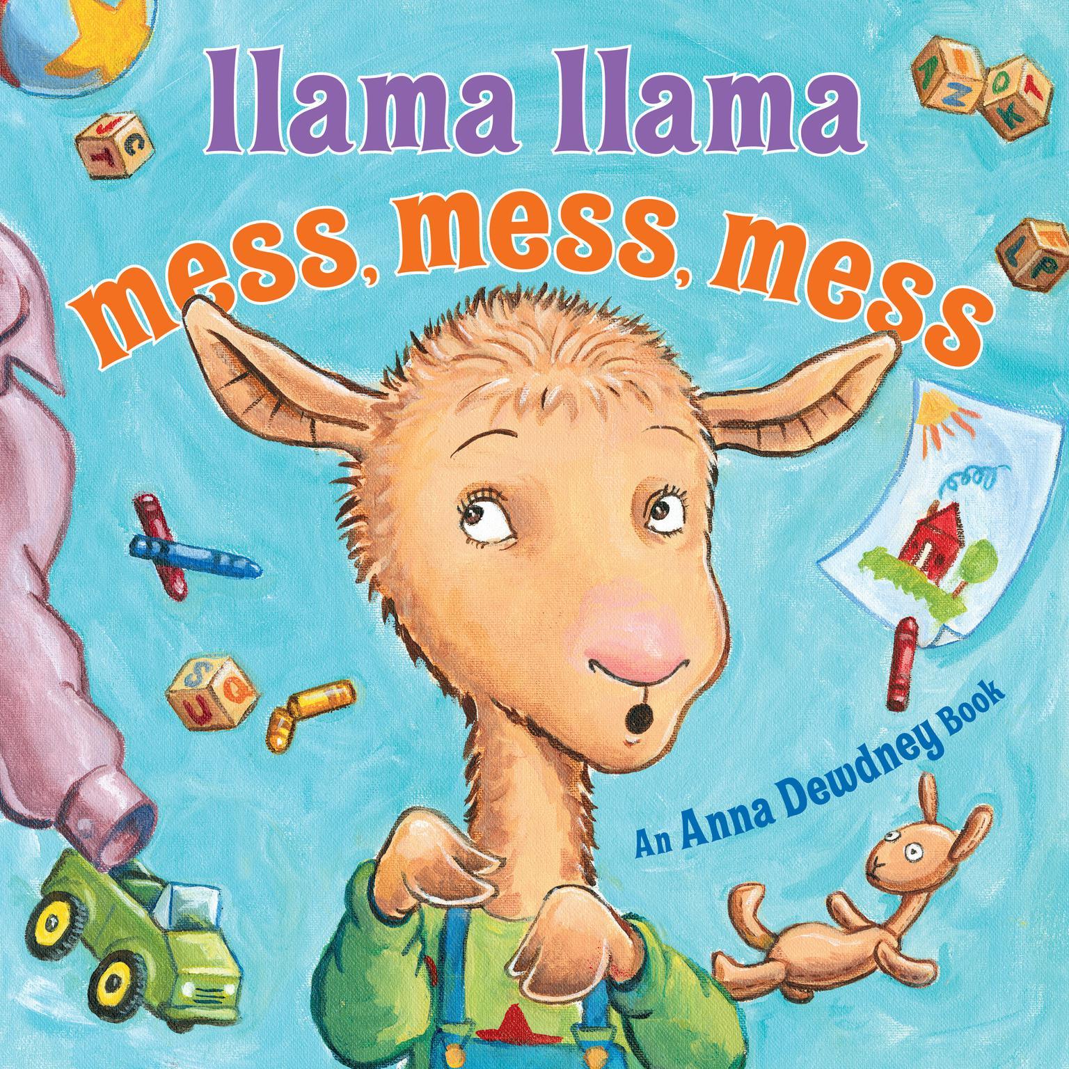 Printable Llama Llama Mess Mess Mess Audiobook Cover Art