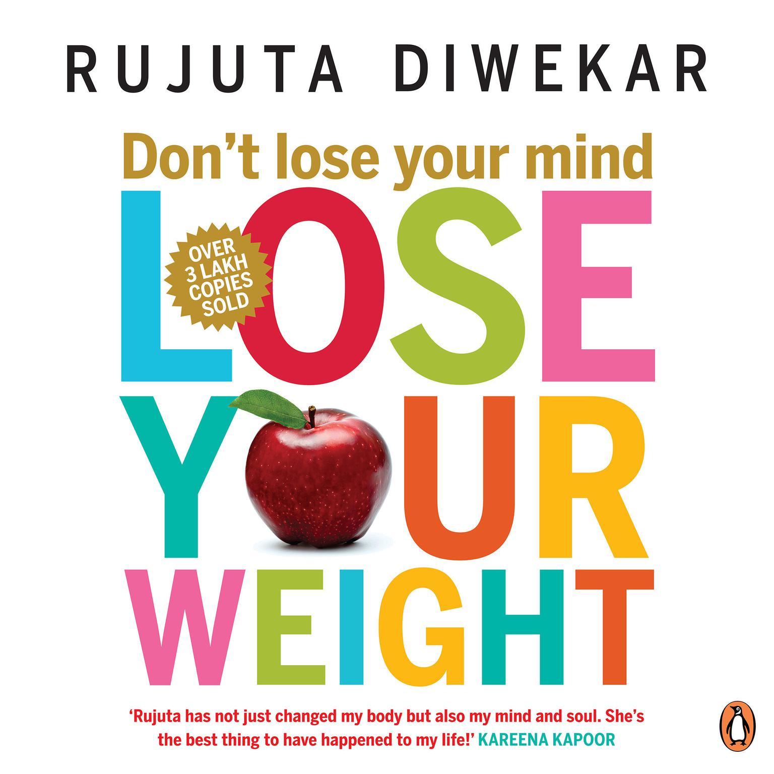 Printable Don't Lose Your Mind, Lose Your Weight Audiobook Cover Art
