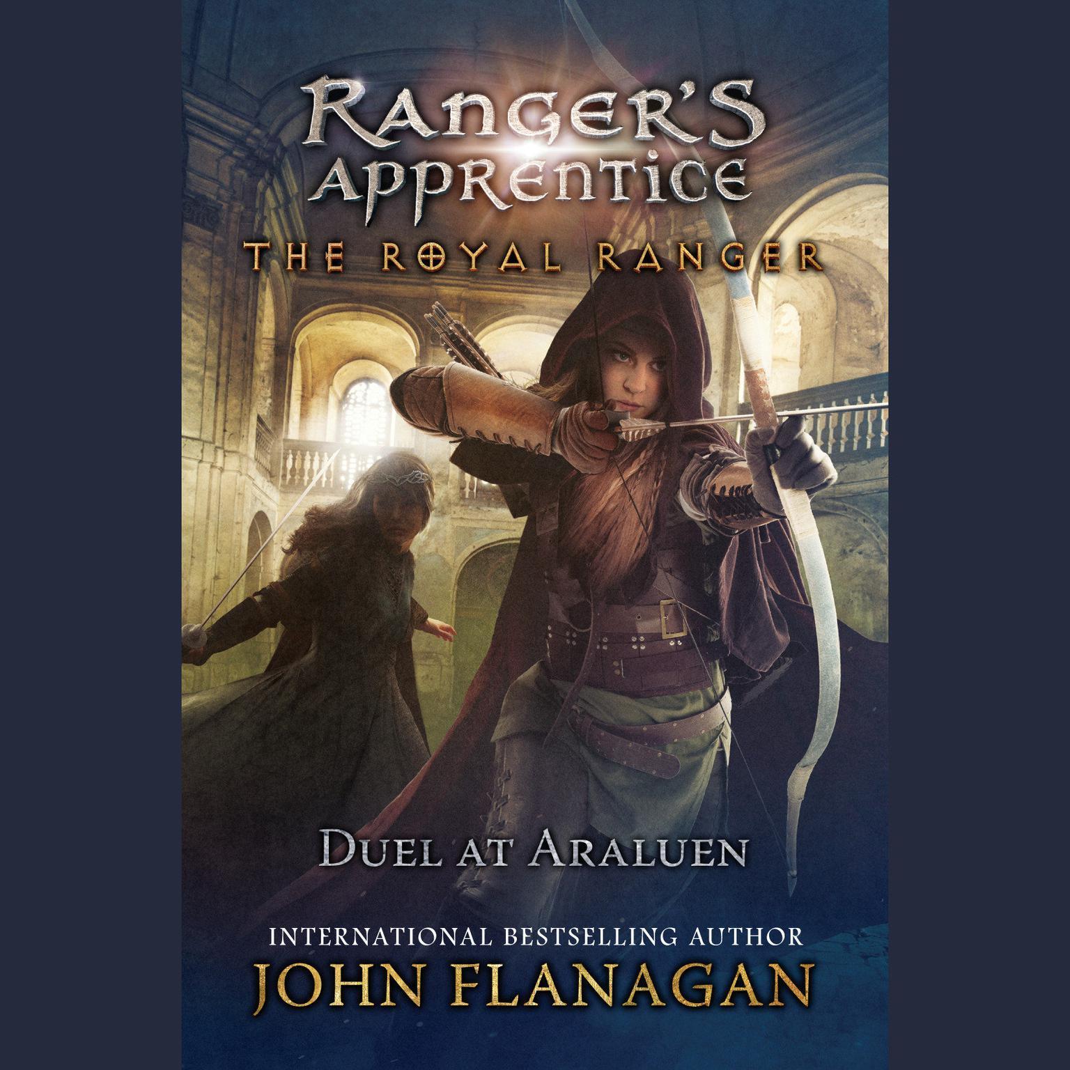 Printable Duel at Araluen Audiobook Cover Art