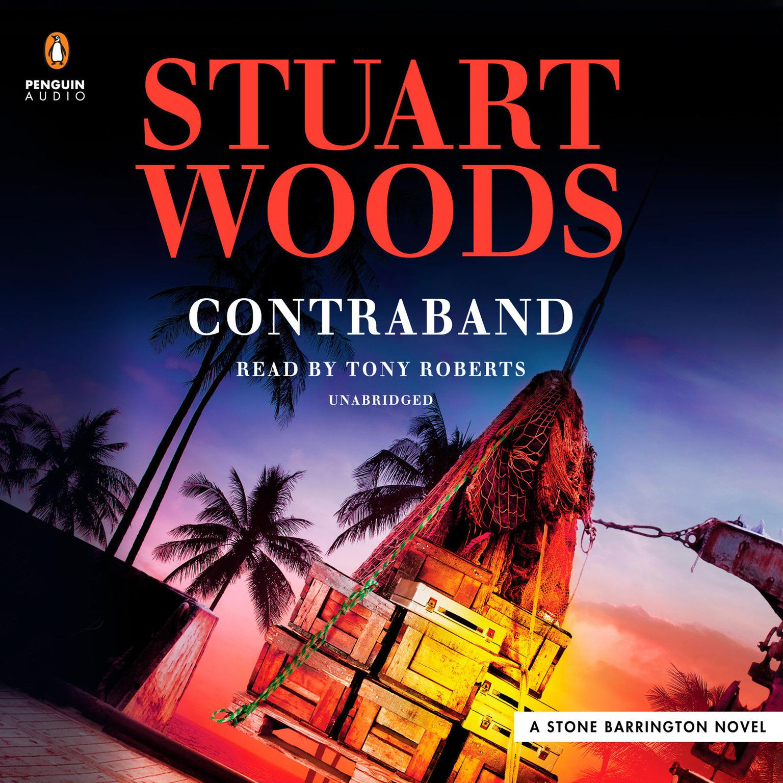 Printable Contraband Audiobook Cover Art