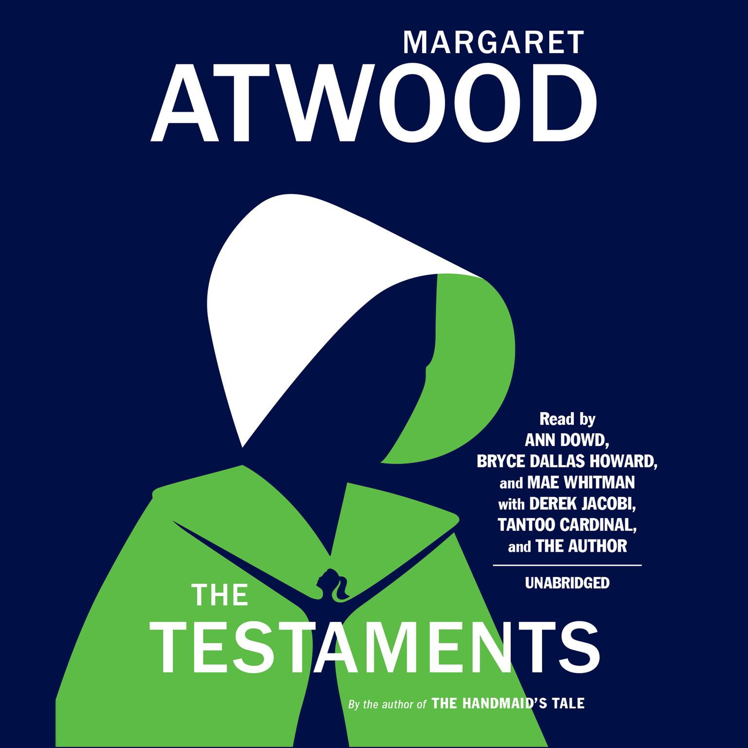 Printable The Testaments: The Sequel to The Handmaid's Tale Audiobook Cover Art
