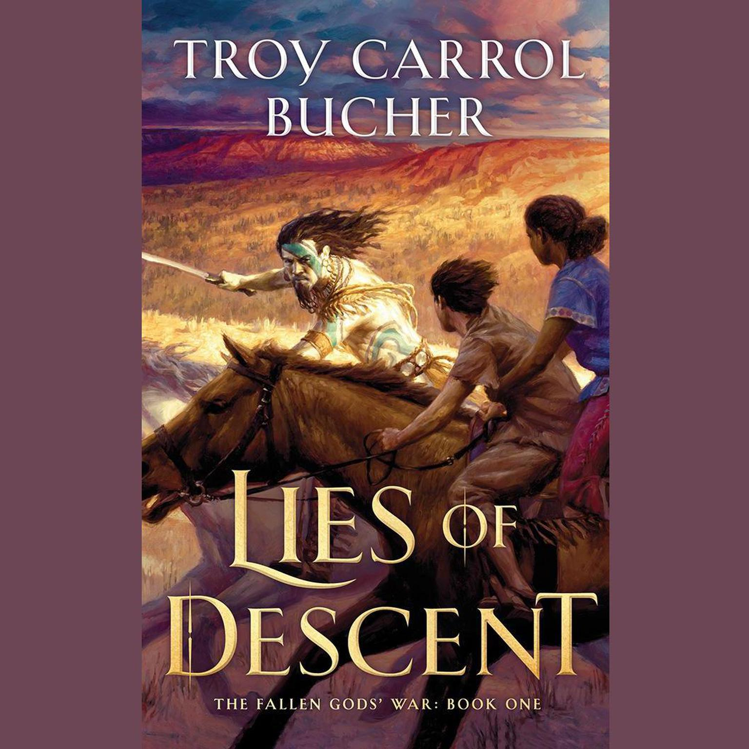 Printable Lies of Descent Audiobook Cover Art