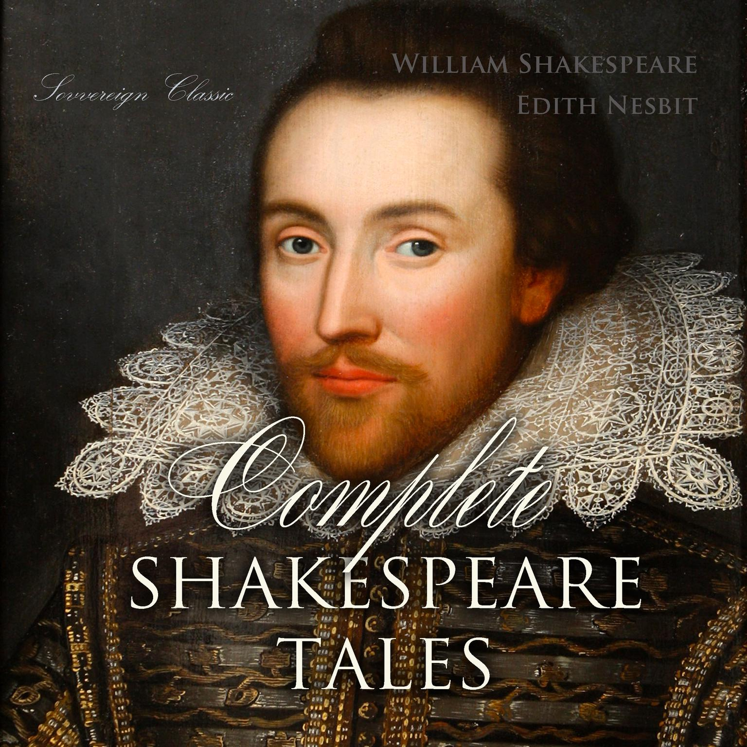 Printable Complete Shakespeare Tales Audiobook Cover Art