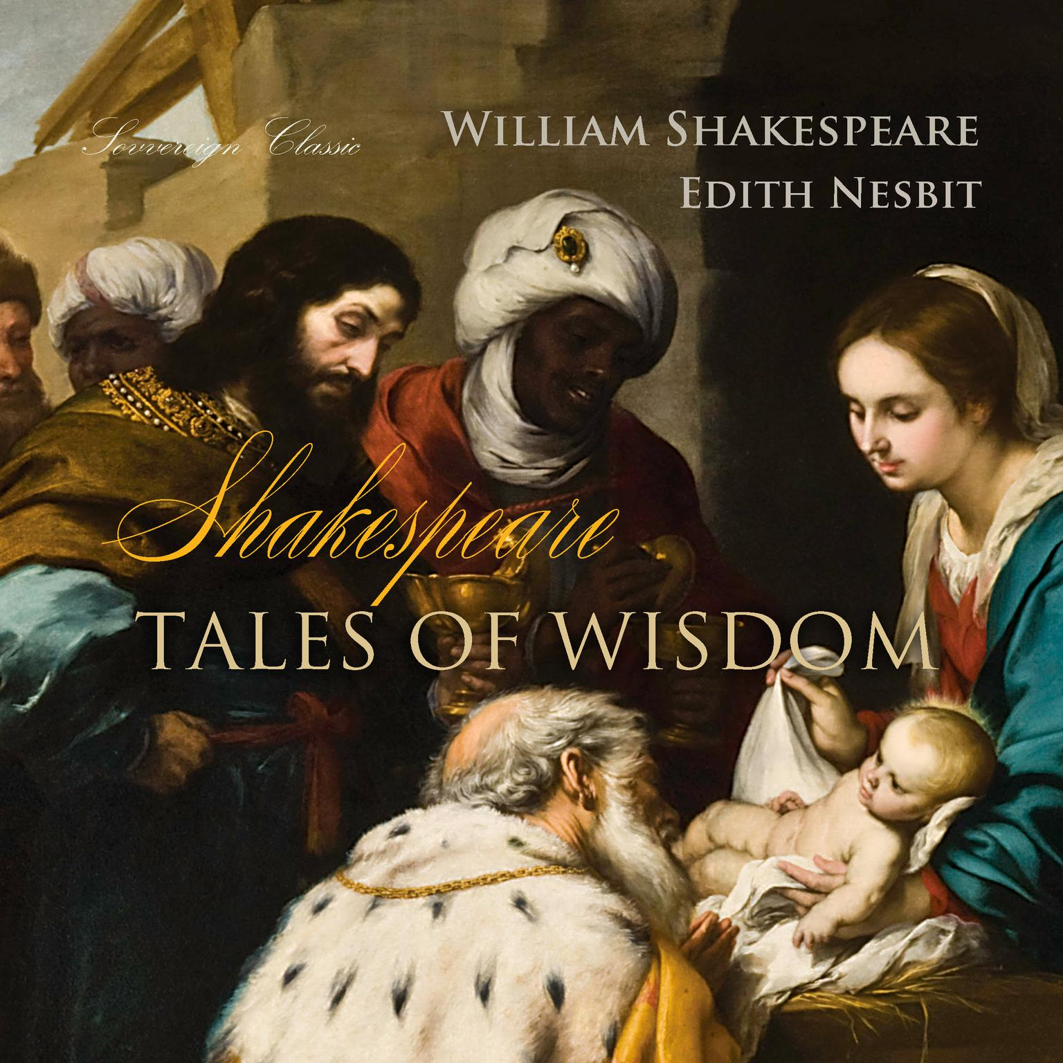 Printable Shakespeare Tales of Wisdom Audiobook Cover Art