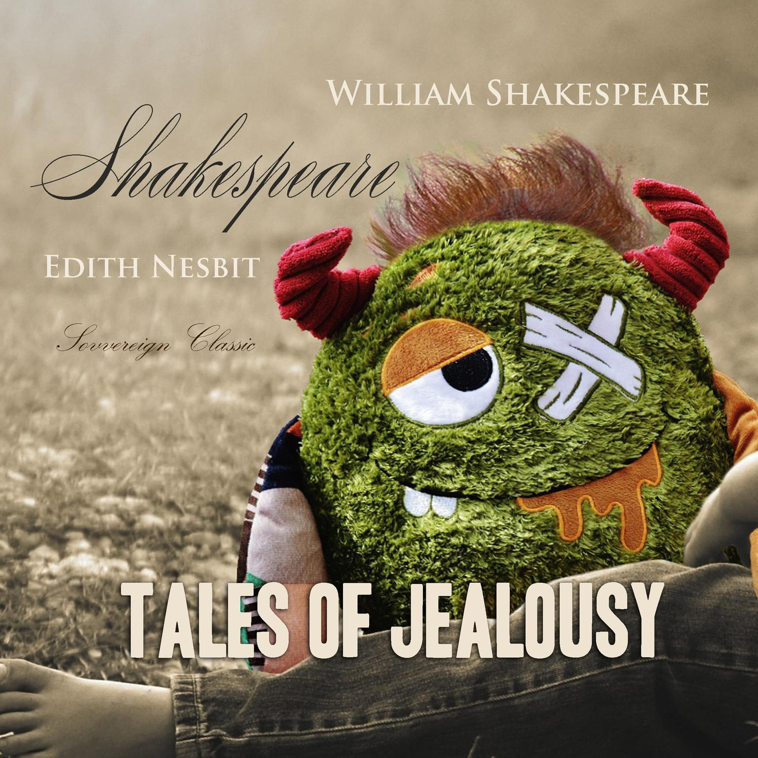 Printable Shakespeare Tales of Jealousy Audiobook Cover Art