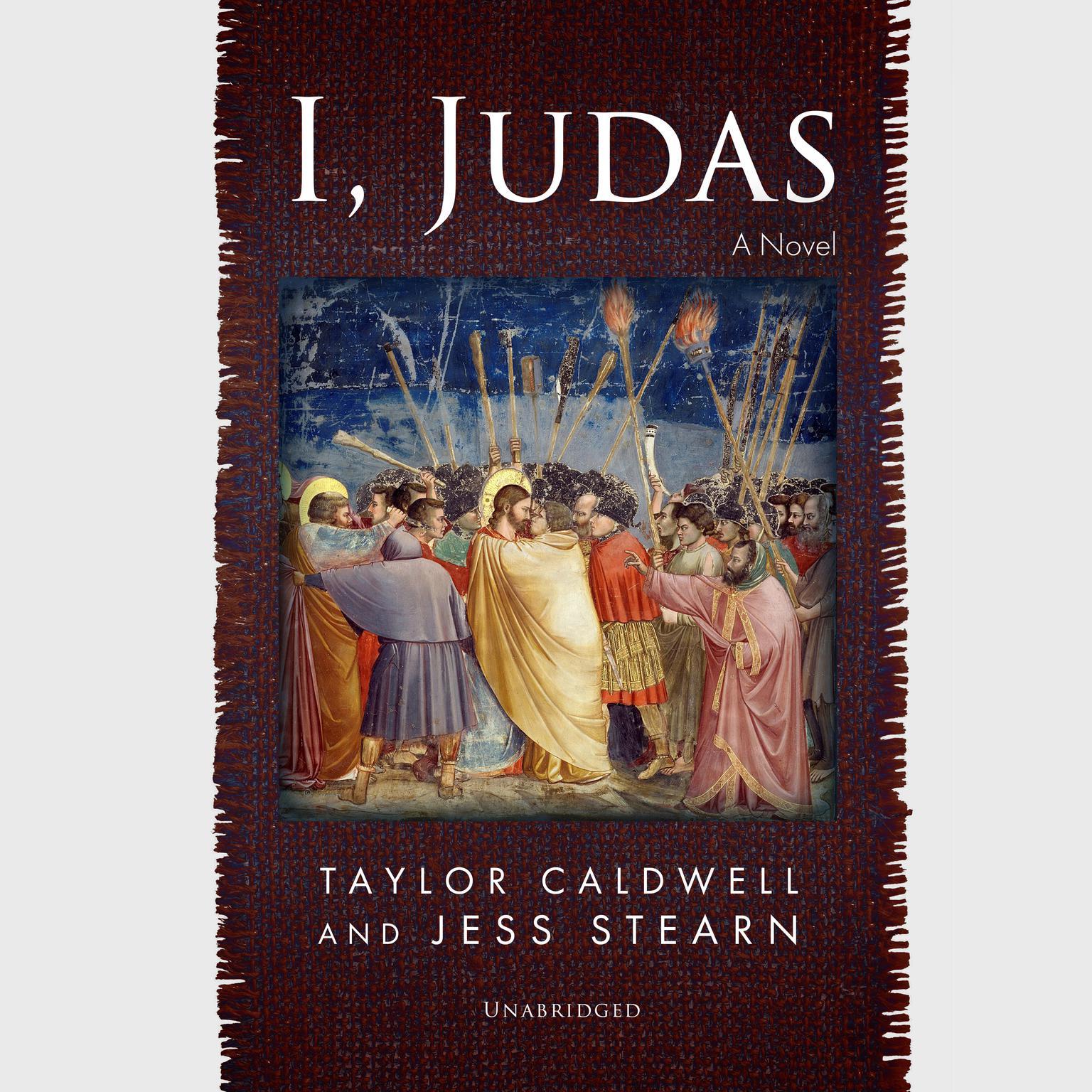 Printable I, Judas: A Novel Audiobook Cover Art