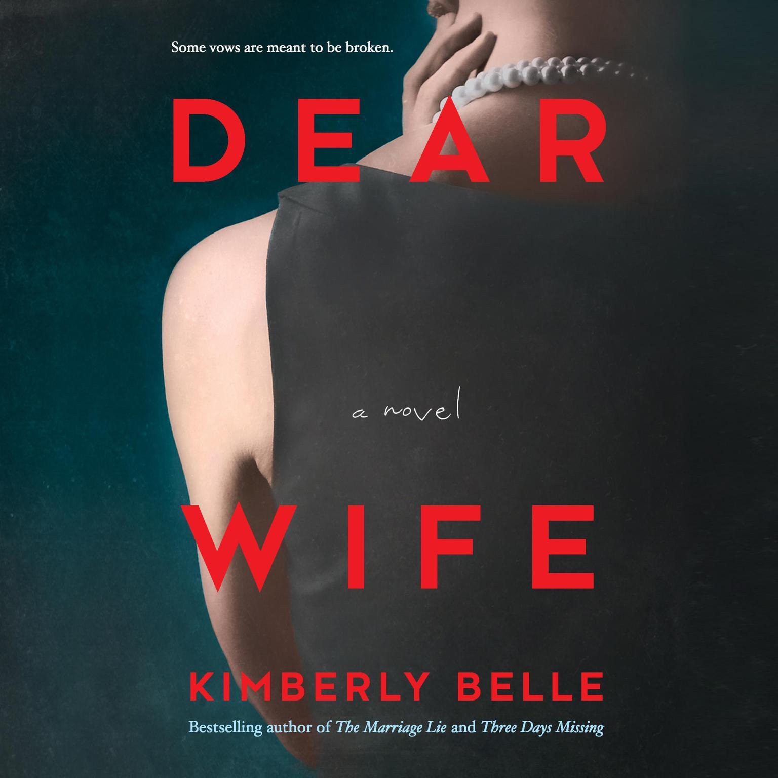 Printable Dear Wife: A Novel Audiobook Cover Art