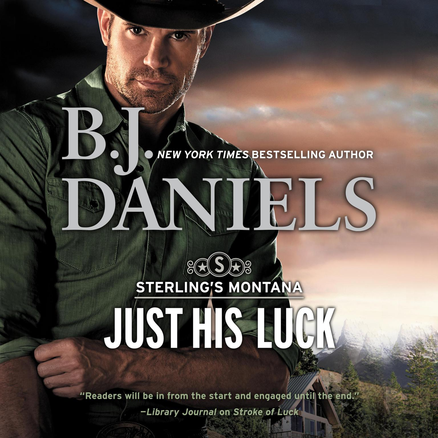 Printable Just His Luck Audiobook Cover Art