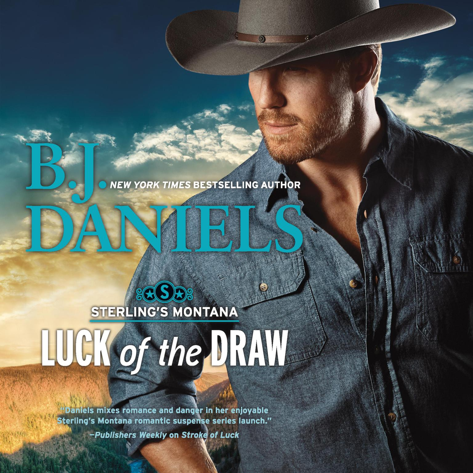 Printable Luck of the Draw Audiobook Cover Art