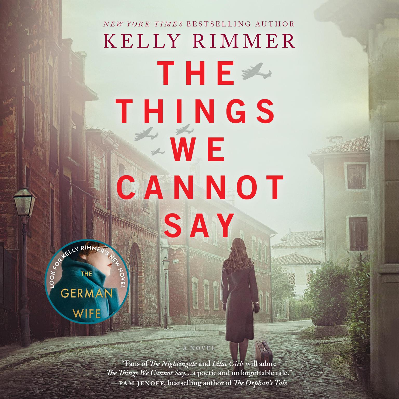 Printable The Things We Cannot Say Audiobook Cover Art