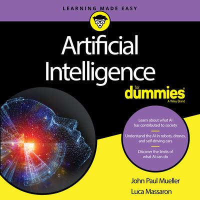 Artificial Intelligence For Dummies Audiobook, by John Mueller