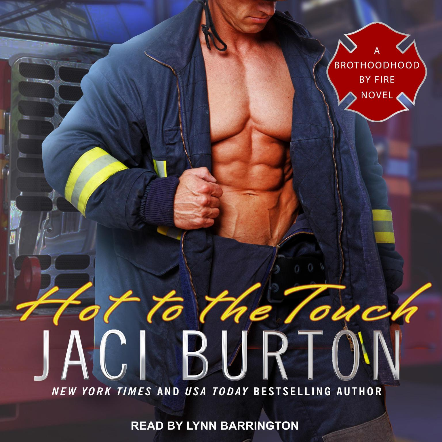Printable Hot to the Touch Audiobook Cover Art