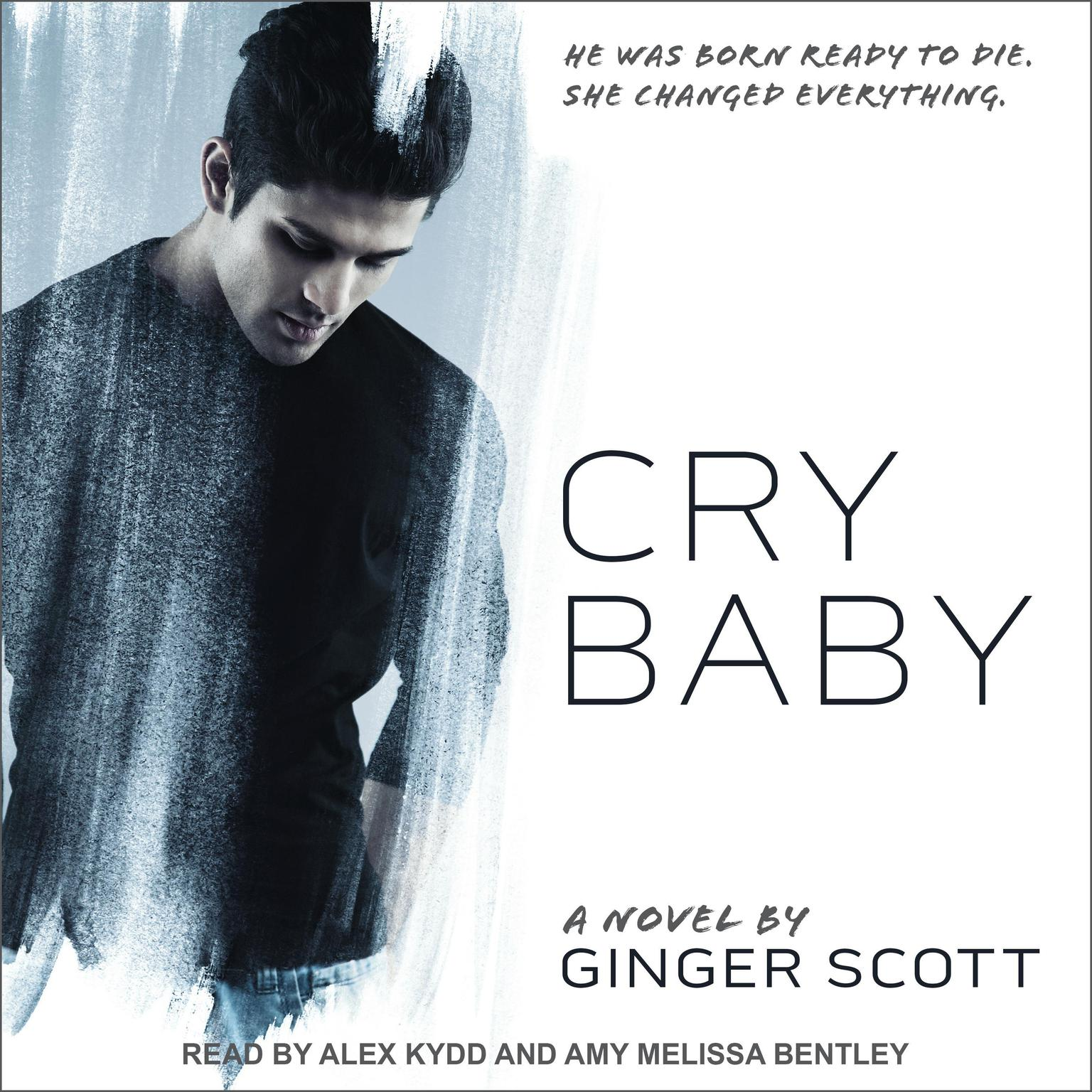 Printable Cry Baby Audiobook Cover Art