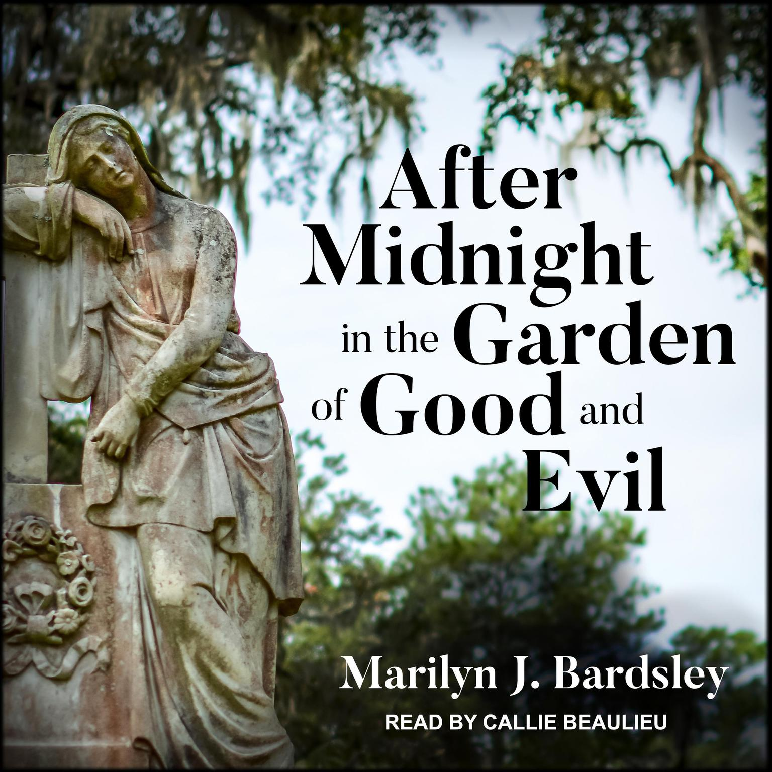 Printable After Midnight in the Garden of Good and Evil Audiobook Cover Art